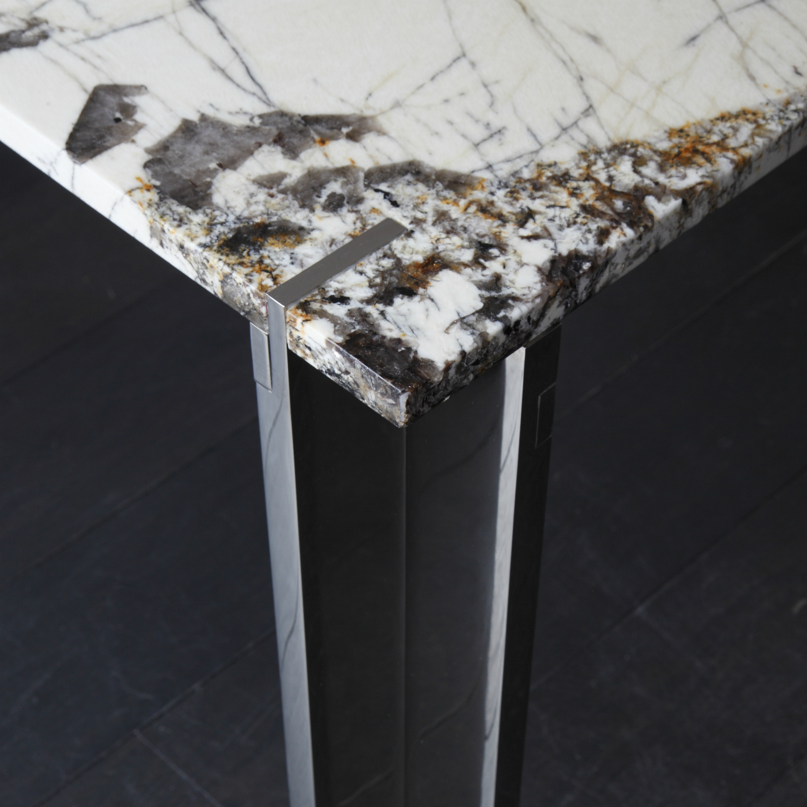 Carlo Table Nickel